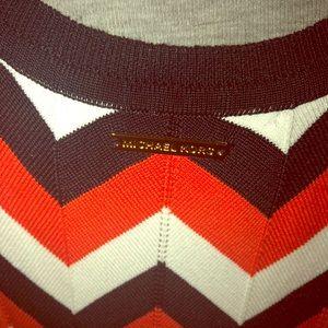 Michael Kors Chevron Knit Dress